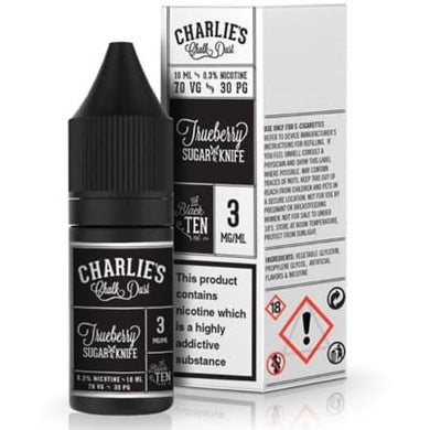 Charlie's Chalk Dust- True berry sugar & Knife 10ml