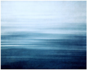 Lisa Russo Fine Art Abstract Art Blue Bliss