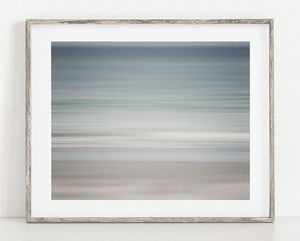 Lisa Russo Fine Art Abstract Art On the Shore <br>Beach Abstract Wall Art