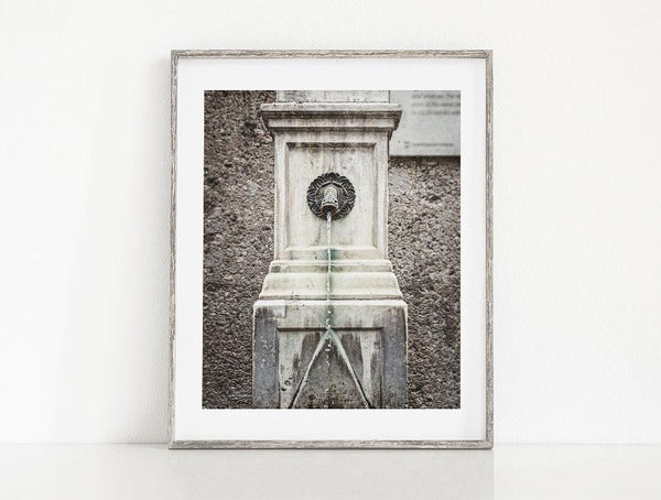 Lisa Russo Fine Art Bathroom & Laundry Room Innsbruck Fountain <br>Austria Photography