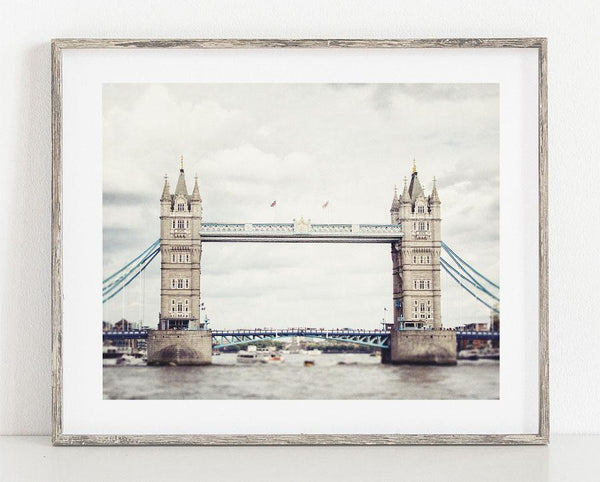 Lisa Russo Fine Art Bathroom & Laundry Room London Tower Bridge <br>London Photography