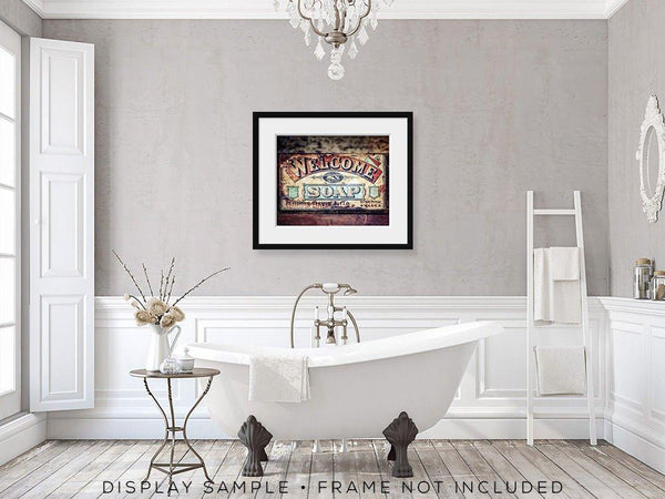 Welcome Soap <br>Bathroom & Laundry Room Decor
