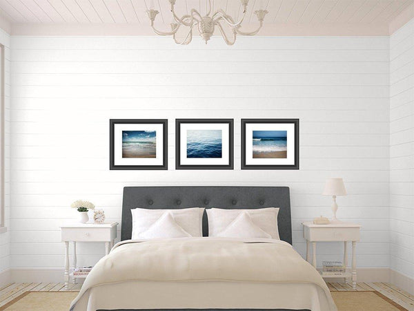 Lisa Russo Fine Art Beach Decor Jewel Beach • Set of 3