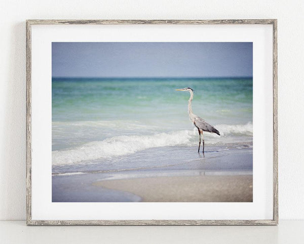 Lisa Russo Fine Art Beach Decor Just Fishing <br>Florida Coastal Wall Art