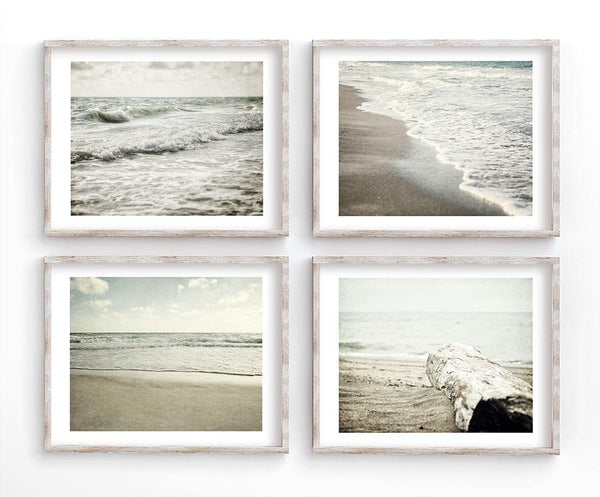 Lisa Russo Fine Art Beach Decor Minimalist Sea <br>Coastal Decor Set of 4