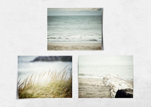 Lisa Russo Fine Art Beach Decor The Shore • Set of 3