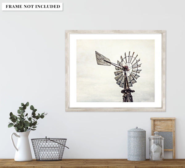 Lisa Russo Fine Art Farmhouse and Rustic Decor Aermotor Windmill