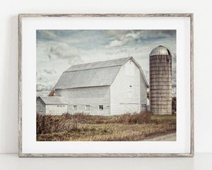 Lisa Russo Fine Art Farmhouse and Rustic Decor Barn in the Wind <br>Modern Farmhouse Decor