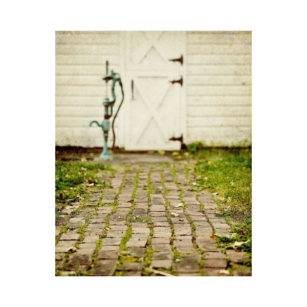Lisa Russo Fine Art Farmhouse and Rustic Decor Brick Path