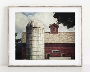 Lisa Russo Fine Art Farmhouse and Rustic Decor Charlton Dairy Barn <br>Farmhouse Home Decor