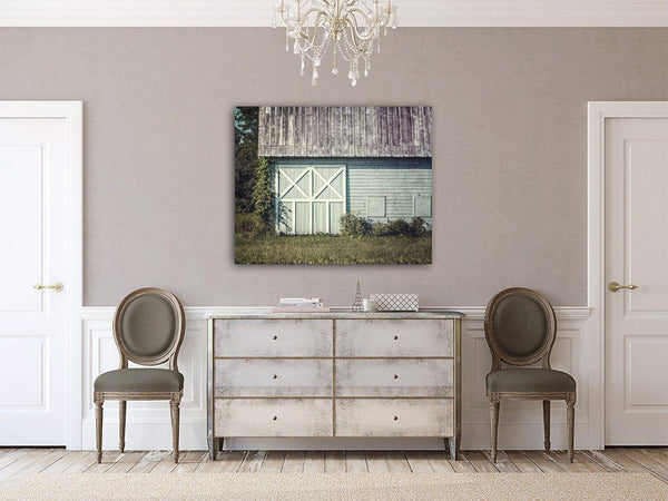 Lisa Russo Fine Art Farmhouse and Rustic Decor Charlton Girls' School Barn