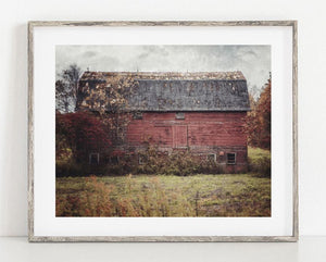 Lisa Russo Fine Art Farmhouse and Rustic Decor Deconstructed <br>Rustic Red Farmhouse Decor