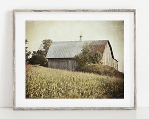 Lisa Russo Fine Art Farmhouse and Rustic Decor Harvest Barn <br>Fall Farmhouse Decor