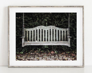 Lisa Russo Fine Art Farmhouse and Rustic Decor Have a Seat <br>Rustic Home Decor