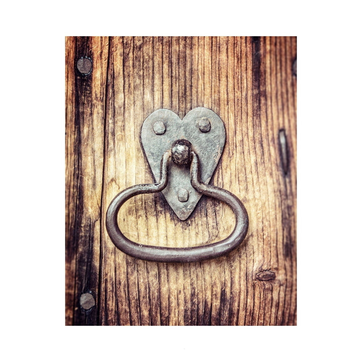 Lisa Russo Fine Art Farmhouse and Rustic Decor Heart Shaped Knocker