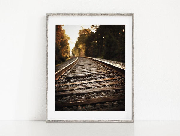 Lisa Russo Fine Art Farmhouse and Rustic Decor On the Rails <br>Rustic Railroad Photography
