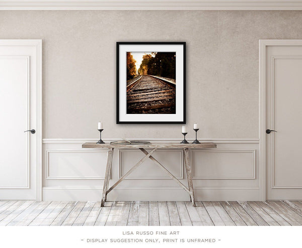 Lisa Russo Fine Art Farmhouse and Rustic Decor On the Rails