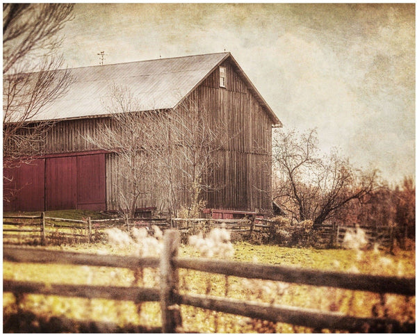 Lisa Russo Fine Art Farmhouse and Rustic Decor Ready for Winter