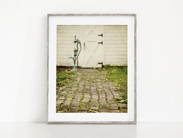 Lisa Russo Fine Art Farmhouse and Rustic Decor The Brick Path <br>Rustic Cottage Wall Decor