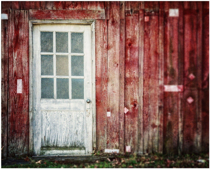 Lisa Russo Fine Art Farmhouse and Rustic Decor The White Barn Door