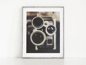 Lisa Russo Fine Art Farmhouse and Rustic Decor Vintage Brownie Camera <br>Industrial Home Decor
