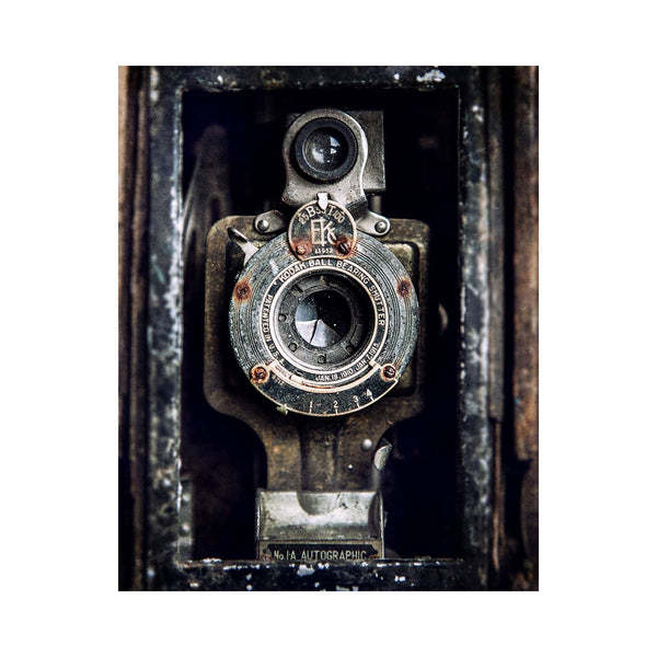 Vintage Kodak Camera <br>Industrial Home Decor