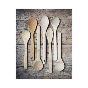 Lisa Russo Fine Art Kitchen Decor Wooden Spoons