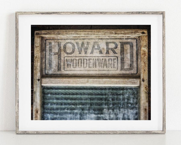 Howard Washboard <br> Laundry Room Decor