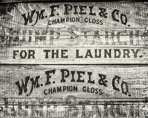 Piel Laundry Starch <br>Laundry Room Decor