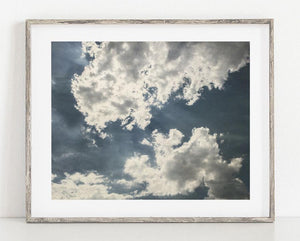 Lisa Russo Fine Art Nature Photography Behind the Clouds <br>Abstract Nature Photography