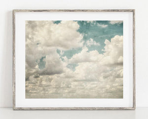 Lisa Russo Fine Art Nature Photography Floating in the Blue <br>Clouds Nature Photography
