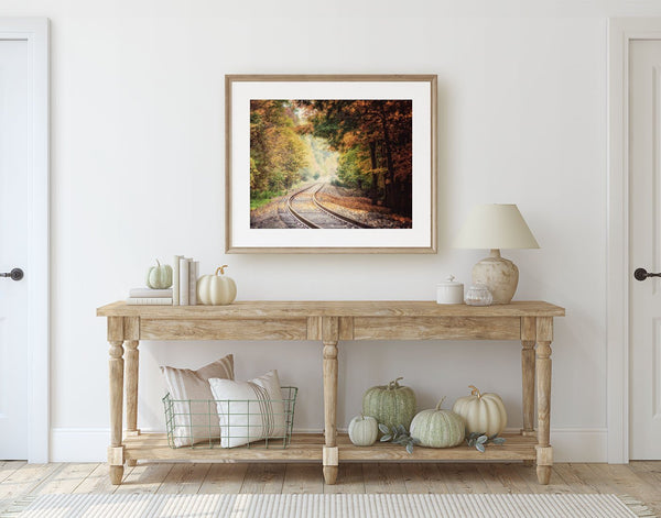 Lisa Russo Fine Art Nature Photography Into the Autumn Woods