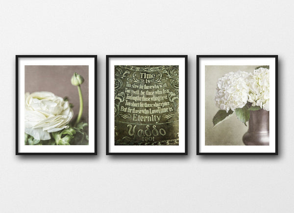 Lisa Russo Fine Art Nature Photography Romantic Bedroom • Set of 3