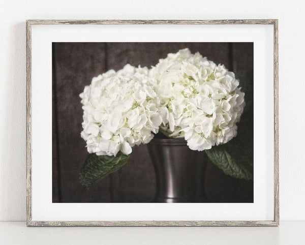 Lisa Russo Fine Art Nature Photography Rustic Hydrangeas <br>Country Floral Decor