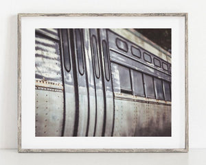 Lisa Russo Fine Art Rustic Home Decor CTA Train