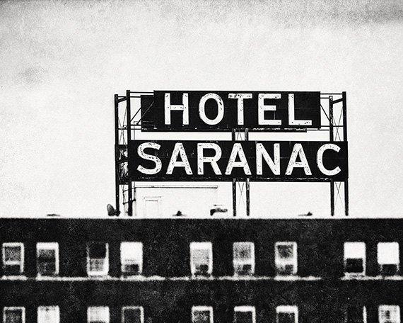 Lisa Russo Fine Art Rustic Home Decor Hotel Saranac • Saranac Lake, New York