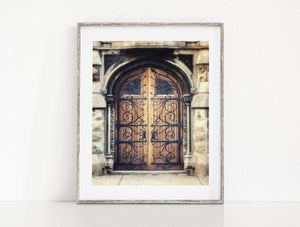 Lisa Russo Fine Art Rustic Home Decor Industrial Church Door <br>Pittsburgh Pennsylvania Photography