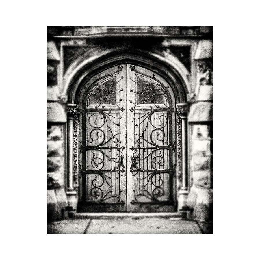 Lisa Russo Fine Art Rustic Home Decor Ornate Church Door • Pittsburgh