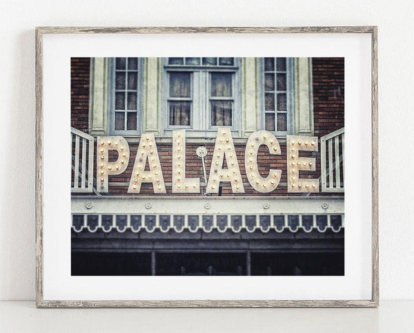 Lisa Russo Fine Art Rustic Home Decor Palace Theatre <br>Lake Placid New York