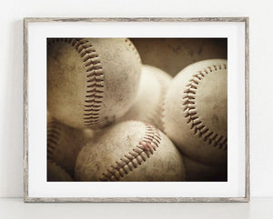 Lisa Russo Fine Art Sports Decor Boys of Summer <br>Baseball Photography