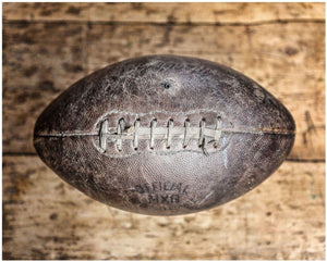 Lisa Russo Fine Art Sports Decor College Pigskin