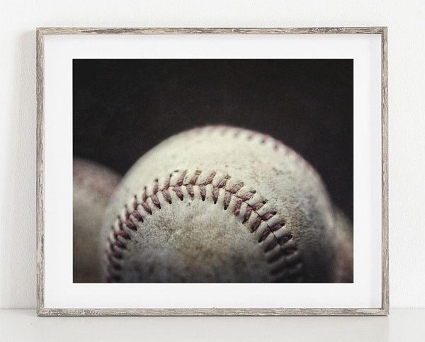 Lisa Russo Fine Art Sports Decor The Game Ball