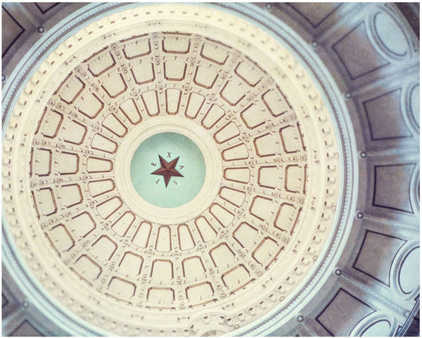 Lisa Russo Fine Art Travel Photography Capitol Star • Austin, Texas