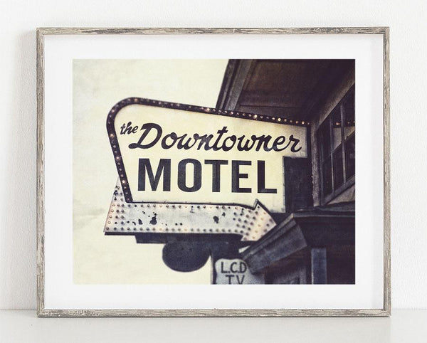 Lisa Russo Fine Art Travel Photography Downtowner Motel <br>Route 66 Arizona Photography