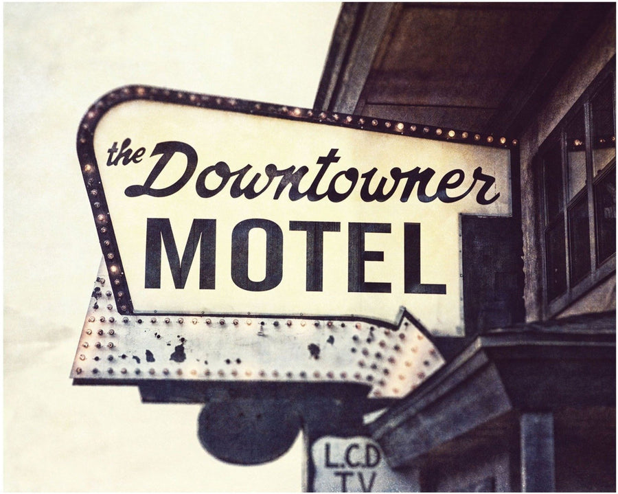 Lisa Russo Fine Art Travel Photography Downtowner Motel • Route 66, Williams Arizona