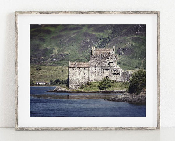 Lisa Russo Fine Art Travel Photography Eilean Donan Castle <br>Loch Duich, Scotland Photography