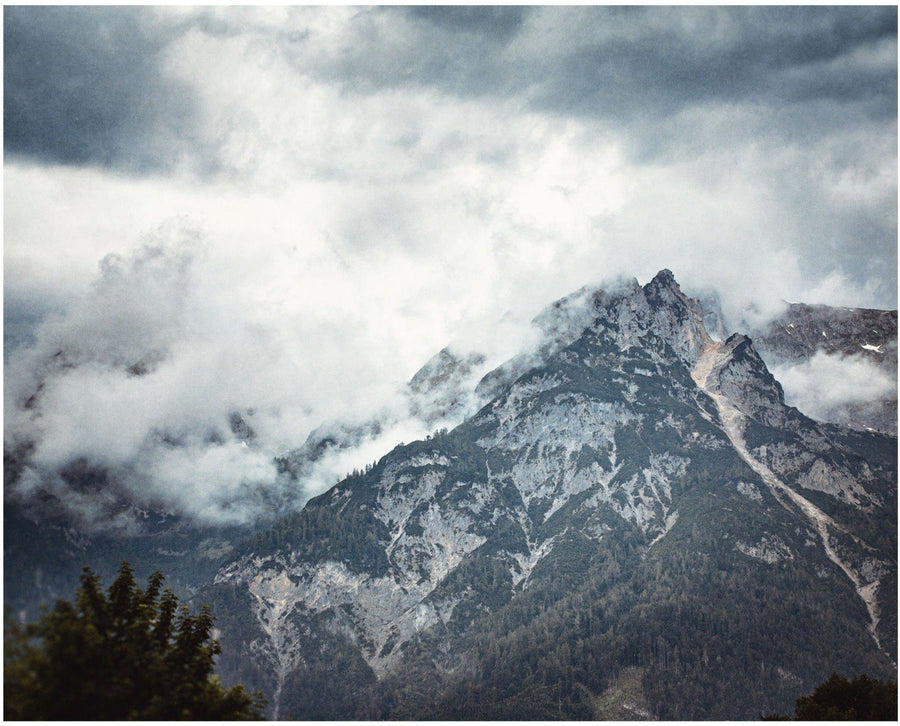 Lisa Russo Fine Art Travel Photography Foggy Alps • Austria