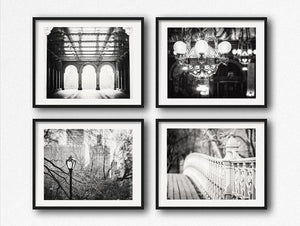 Lisa Russo Fine Art Travel Photography Four Grand Old Bridges <br>Black and White Photography