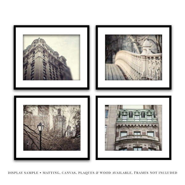 Lisa Russo Fine Art Travel Photography New York Architecture I • Set of 4