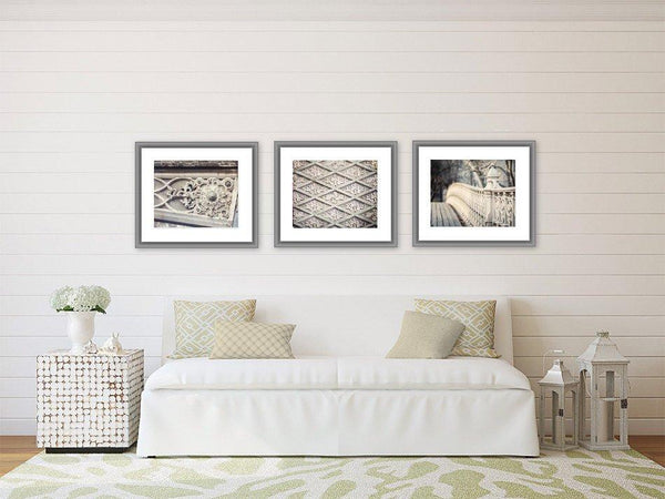 Lisa Russo Fine Art Travel Photography New York Architecture II • Set of 3